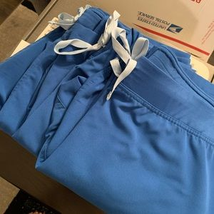 FIGS Royal Blue Livingston Pants